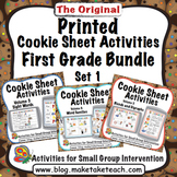 Printed Cookie Sheet Activities- First Grade Bundle