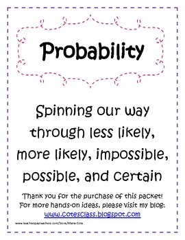 Probability: Spinning our way Through!