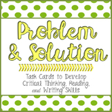 Problem & Solution Writing Task Cards