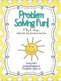Problem Solving Fun! May Edition