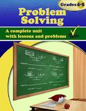 Problem Solving, Grades 4 - 5