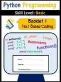 Python Programming - Coding Booklet 1