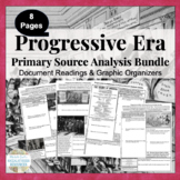 Progressive Era Primary Source Analysis Activity Bundled S