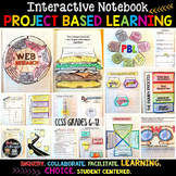Project Based Learning Interactive Notebook {For Any Subject}