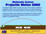 Physics - Projectile Motion SIMS Software