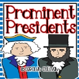Prominent Presidents- A Presidents Day Unit with Common Co