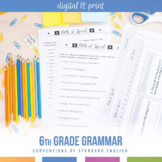 Sixth Grade Grammar Bundle