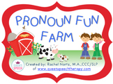 Pronoun Fun Farm