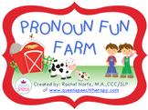 Pronoun Fun Farm