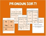 Sort - Pronouns