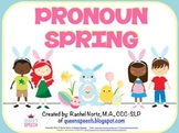 Pronoun Spring Fun