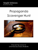 Propaganda Scavenger Hunt to Educate and Engage