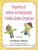 Properties of Addition and Multiplication Foldable Graphic