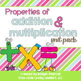 Properties of Addition and Multiplication Pack