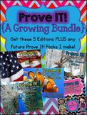 Prove It! Growing Bundle {5 Editions - 90 Passages}