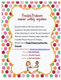 Prudy's Problem Museum Writing Organizer and Writing Templ