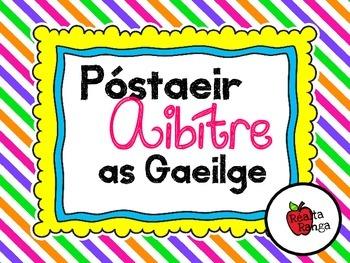 Póstaeir Aibítre as Gaeilge - Naíonáin - Gaeilscoil - á é