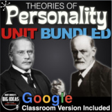 Psychology: Entire Personality Unit - PPTs, Worksheets, As