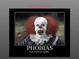 Psychology Top Ten Phobias