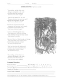 Public Speaking:Jabberwocky Recitation Grade Sheet and a P