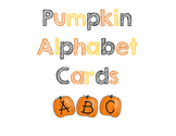 Pumpkin Alphabet Cards - Matching & Sequencing