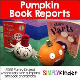 Pumpkin Book Report (Character)