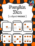 Pumpkin Dice Clipart Freebie