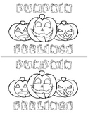 Pumpkin Feelings Book