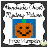 Pumpkin Hundreds Chart Mystery Picture