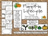 Pumpkin Lifecycle Directed Drawing and Sequencing Activities