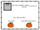 Pumpkin Patch and Class Pumpkin Booklet