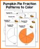 Pumpkin Pie Fraction Mix Up (Comparing Fractions)
