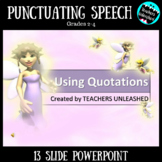 Punctuating Speech