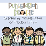 Punctuation People: A Unit on Standard Conventions Grade K-1
