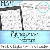 Pythagorean Theorem Maze