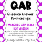 QAR Monster Theme Posters