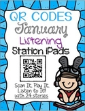 QR CODES for 24 Stories in your Listening Stations: JANUARY