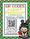 QR CODES for 32 Stories in your Listening Stations: AUGUST