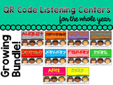 QR Code Listening Center For the Year! (Bundle and Save) 8