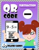 QR Code Subtraction - Flash Cards