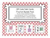 QR Code Task Cards: Fraction Bundle Pack