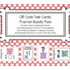 QR Code Task Cards: Fraction Bundle Pack