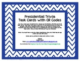 QR Code Task Cards: Presidential Trivia