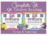 QR Critters BUNDLE: Fiction & Nonfiction Reading Questions