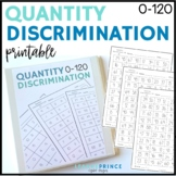 Quantity Discrimination Fluency Practice Pages