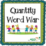 Quantity Word War showing the relationship of quantity words