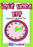 Que Hora Es? (Telling Time) Spanish Lapbook Fun