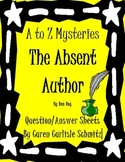 Question Sheet - A to Z Mysteries - The Absent Author (510