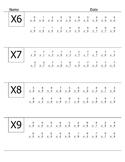 Quick Quiz:  Multiplication Drills 6-9