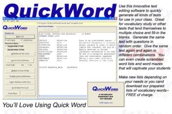 QuickWord for Windows PC
